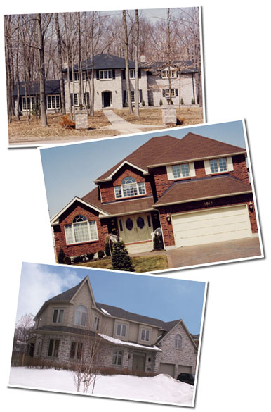 pictures of custom homes built by John Maas Builder in Kingston, Ontario